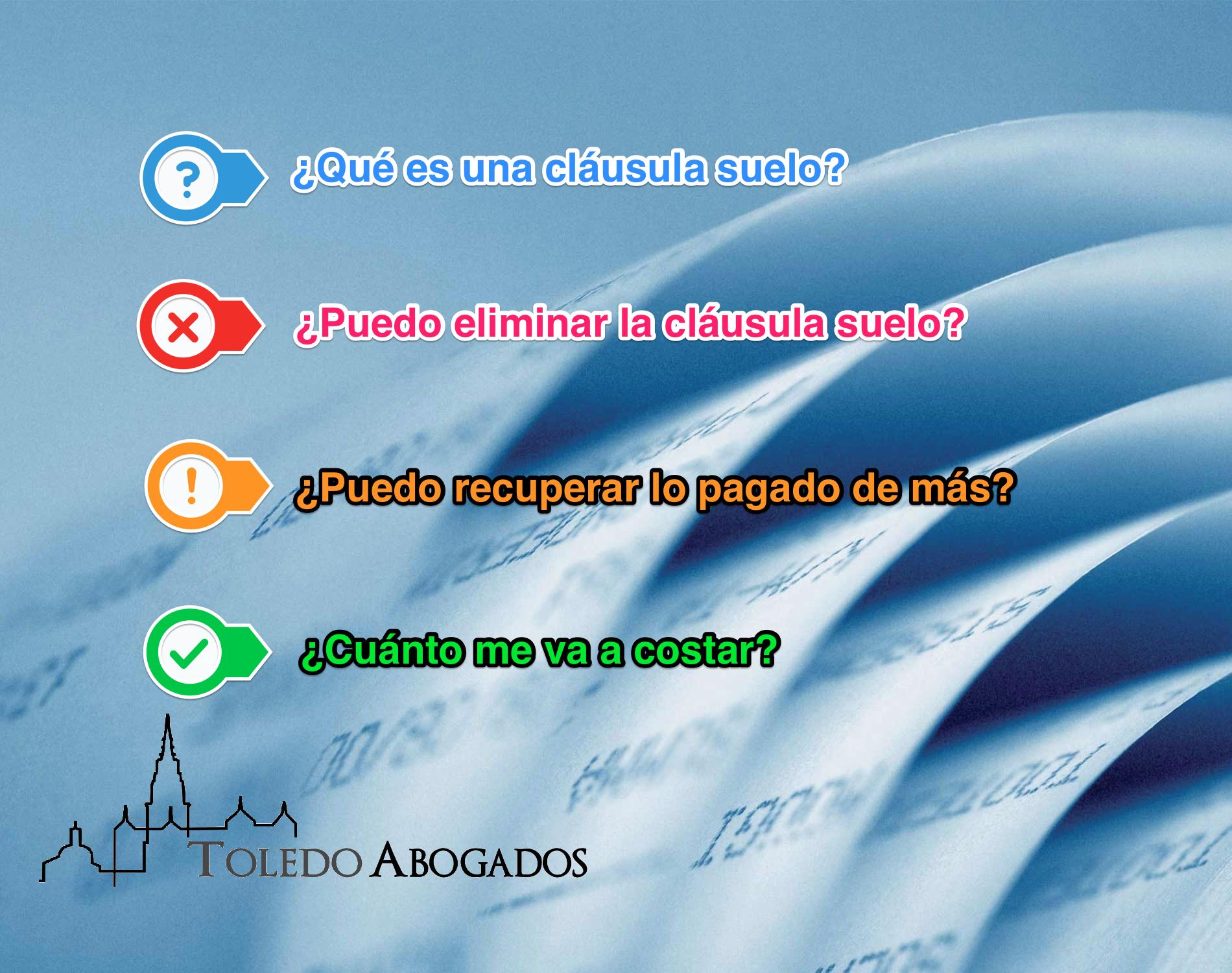 Cl usula suelo for Clausula suelo 0